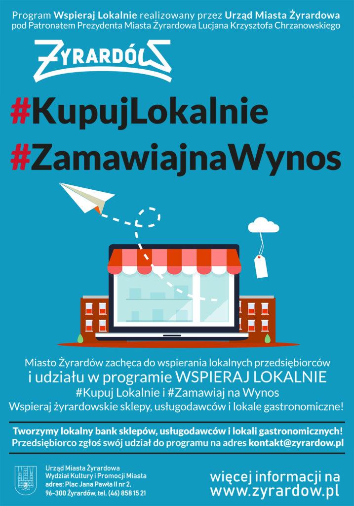 plakat programu kupuj lokalnie