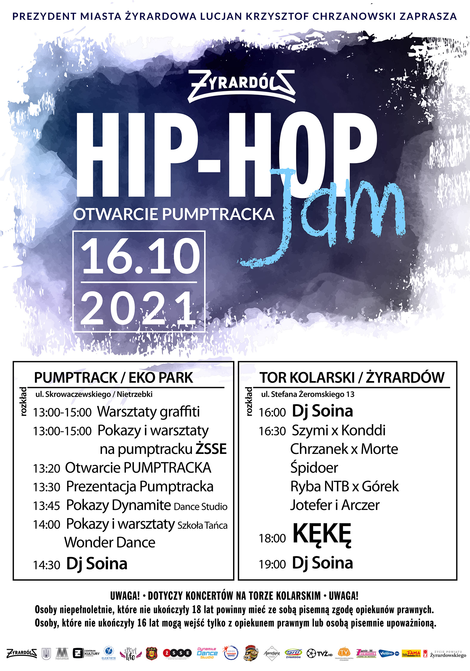 plakat hip hop